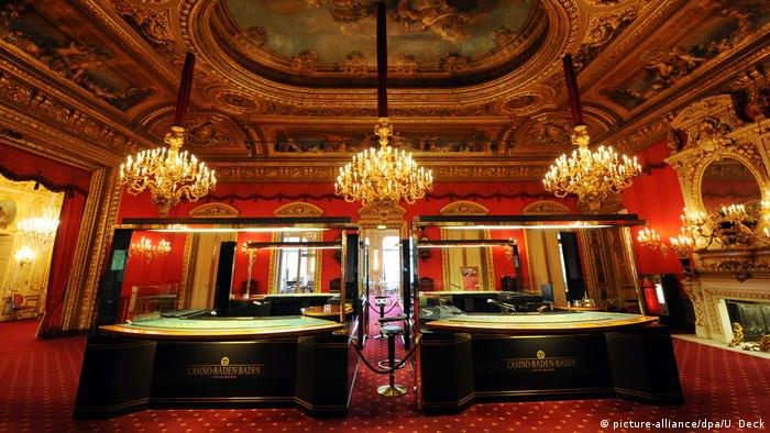 Germany, interior of the Red Room in the casino in Baden-Baden