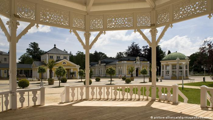 Frantiskovy Lazne, Czech Republic, Pavillon in the spa garden