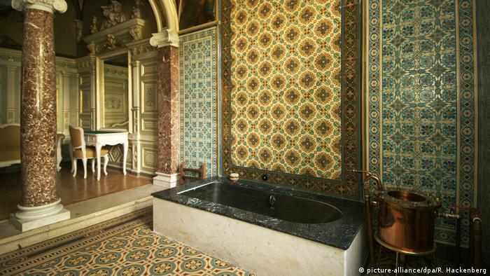 Marianske Lazne, Czech Republic. The historic imperial cabin in the Hotel Nove Lazne