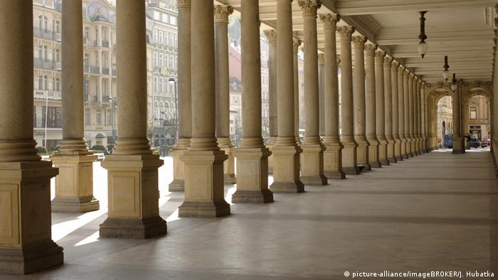 Karlovy Vary, Czech Republic, Mill Colonnade (picture-alliance/imageBROKER/J. Hubatka)