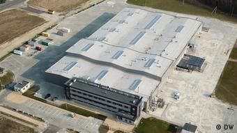 Корпуса завода аккумуляторных батарей в Бресте