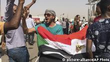 Sudan Proteste gegen Präsident Omar Al-Bashir in Khartoum