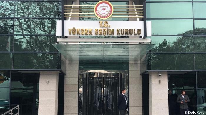 YSK türk. Hohe Wahlausschuss (DW/H. Köylü)