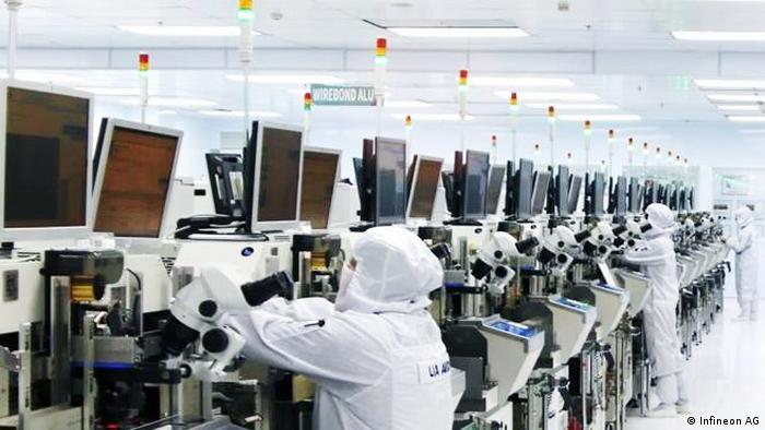 Infineon workers