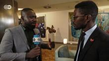 DW-Interview mit Bobi Wine Uganda