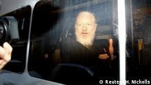 London Festnahme Julian Assange