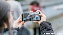 Klicksafe - Symbolbilder zum Thema Cyber-Mobbing