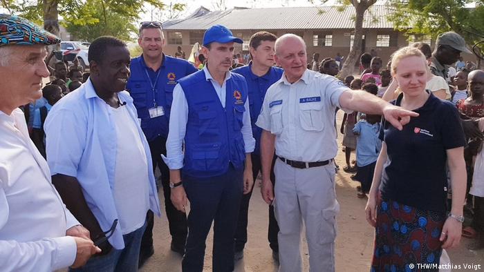 Mosambik Trinkwasseraufbereitung Einsatz THW
