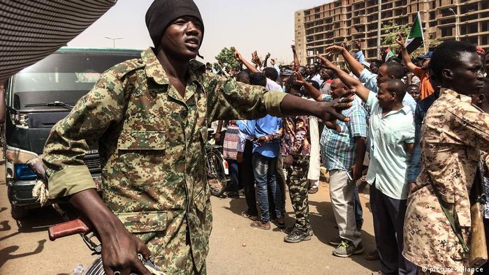 Sudan, Demonstration