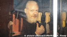 Großbritannien London - Julian Assange verhaftet