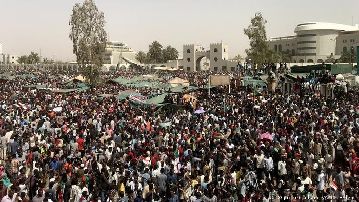 Sudan Demonstrationen