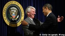 USA Gregory Craig und Barack Obama