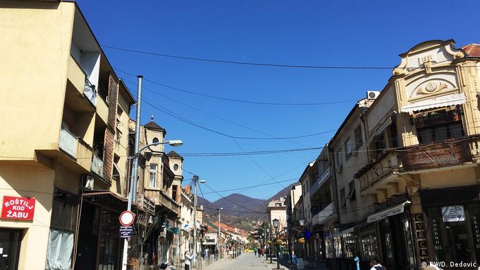 Serbien Stadt Vranje