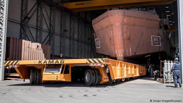 Kamag Werftransporter (Imago Images/Scanpix)