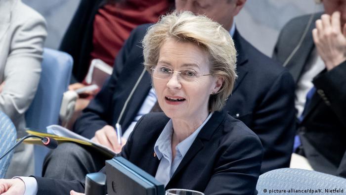 USA UN-Sicherheitsrat Ursula von der Leyen