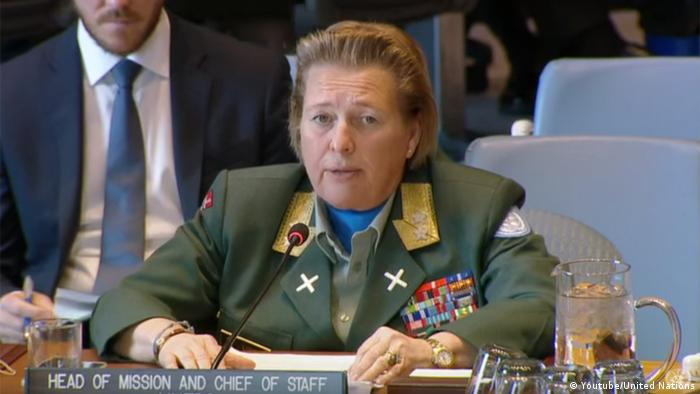 Major General Kristin Lund (Youtube/United Nations)