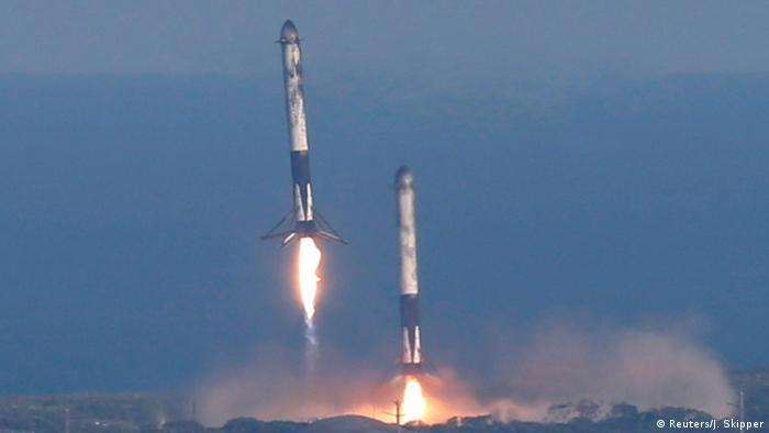 SpaceX Falcon Heavy Rakete (Reuters/J. Skipper)