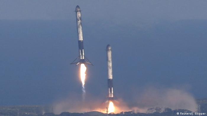SpaceX Falcon Heavy Rakete