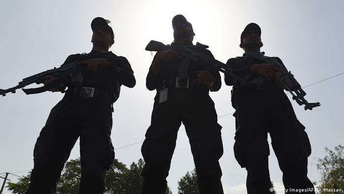 Pakistan Sicherheitskräfte Polizei