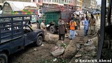 Pakistan Quetta Explosion Markt
