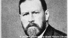 Bram Stoker Novelist (picture-alliance/Mary Evans Picture Library)