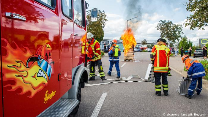 Fire department tops German survey; football and cigarettes lag