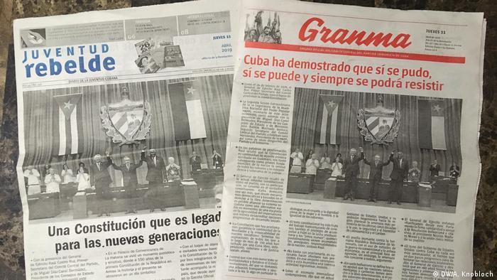 Jornais cubanos