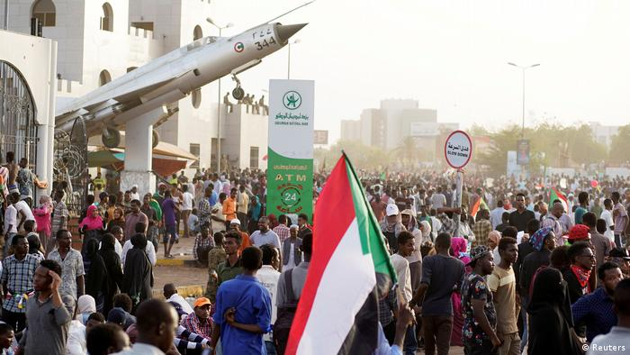 Demonstration Sudan Karthoum (Reuters)