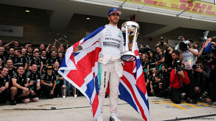 Motorsport Formel 1 Lewis Hamilton (picture-alliance/empics)