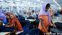 Bangladesch Textilfabrik Dhaka