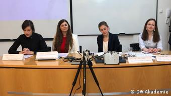 Ungarn Medientraining der DW Akademie (DW Akademie)