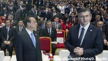 Kroatien China Andrej Plenkovic Li Keqiang