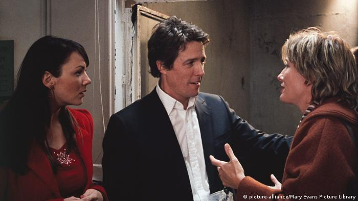 Hugh Grant in the film Love Actually (picture-alliance/Mary Evans Picture Library)