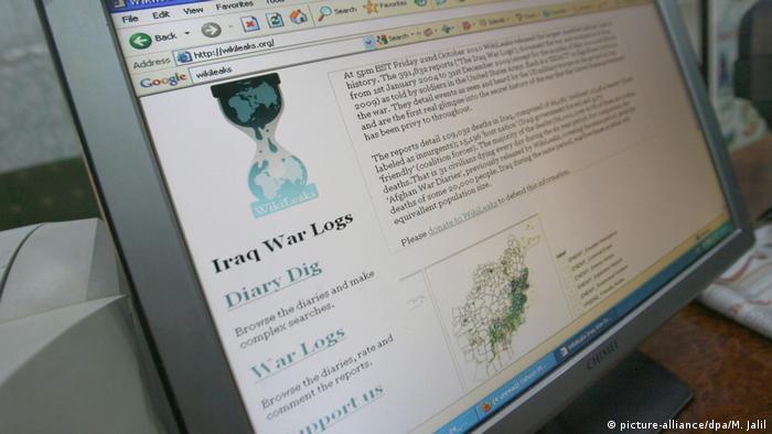 IraK War Logs von Wikileaks
