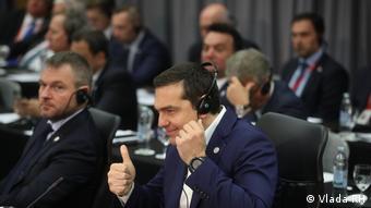 Griechischer Premierminister Alexis Tsipras