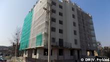 Abriss eines illegal gebauten Wohnhauses
