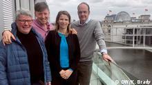 Berlin - Bettina Vestring, Damien McGuinnes, Michaela Küfner und Robin Alexander