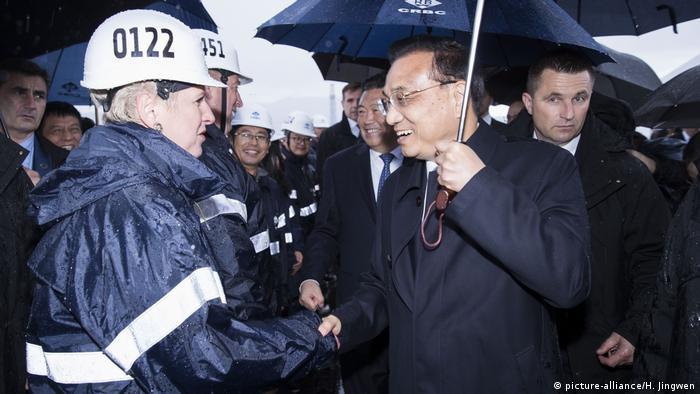 Li Keqiang besucht Kroatien (picture-alliance/H. Jingwen)