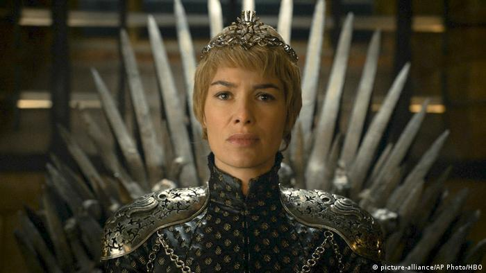 Cersei Lannister in a scene from Game of Thrones
