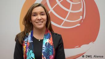 María Fernanda Suárez, Minister für Umwelt Kolumbien (DW/J. Alonso)