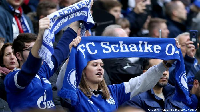 Fußball Bundesliga Fans FC Schalke 04