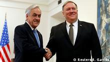 US-Außenminister Mike Pompeo besucht Chiles Präsident Sebastian Pinera