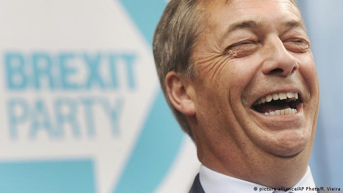 Großbritannien Nigel Farage, ehemals U.K. Independence Party (picture-alliance/AP Photo/R. Vieira)