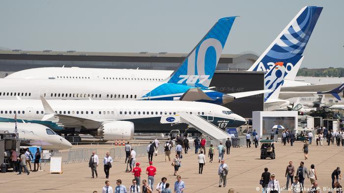 Paris Air Show 2017   Boeing & Airbus
