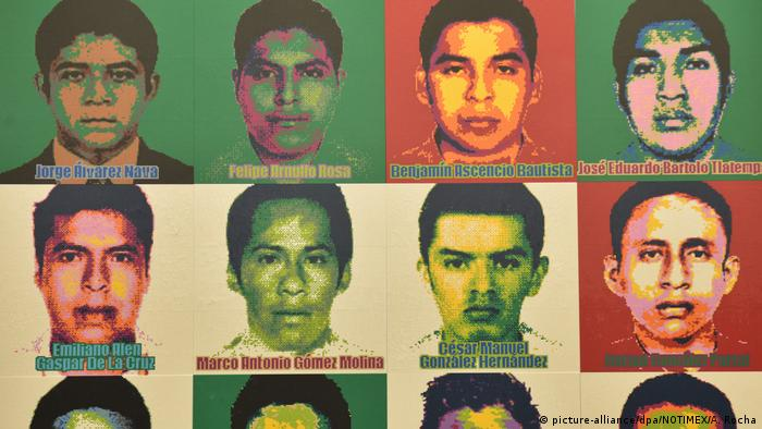 El caso Ayotzinapa sigue impune y sin esclarecerse.