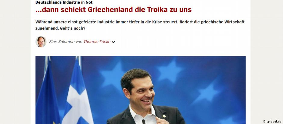 Screemshot - spiegel zu Griechenland (spiegel.de)
