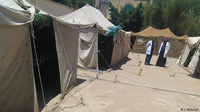 Yemen Sanaa - Cholera