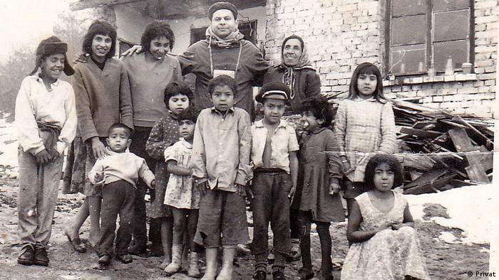 Bulgarien Gabrovo - Roma-Familie in der zweiten Hälfte der 1990 (Privat)