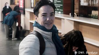 Олена Шевченко, голова правозахисної ЛГБТ-організації Інсайт
