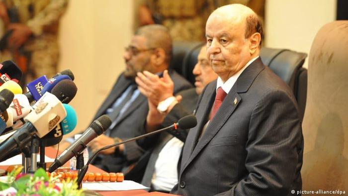 Erste Parlamentssitzung in Jemen seit vier Jahren (picture-alliance/dpa)